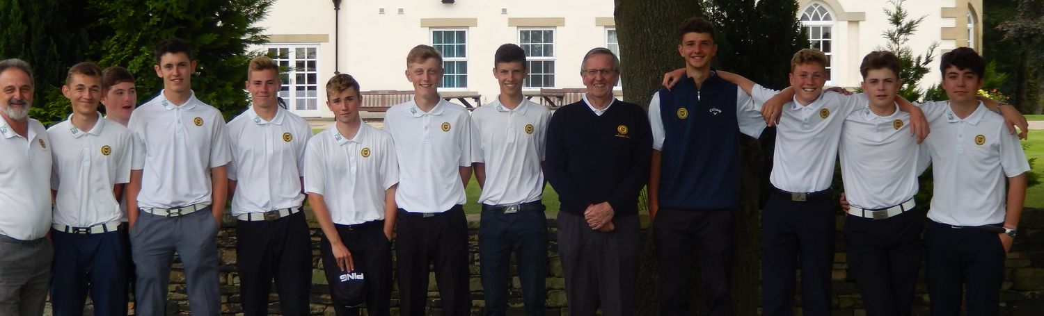 Part of our Junior squad who retained the Yorkshire I-D League Title